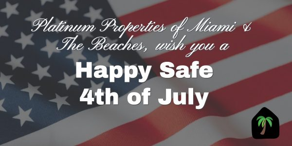 Happy Safe 4th Of July